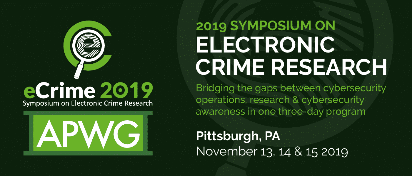 Electronic Crime Research Symposium
